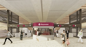 The only way is up for new Bayswater Station