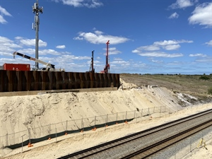Thornlie-Cockburn Link piles through 2020