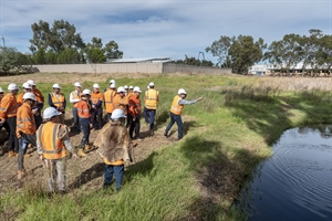 Noongar culture recognised at Nicholson Road Station site