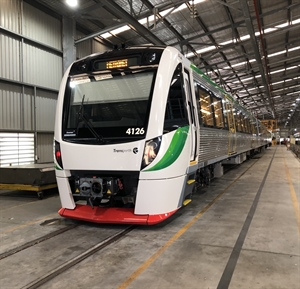 Final B-series railcar delivered