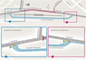 Forrestfield-Airport Link road realignment now open